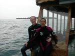 Con Rudi alle Maldive